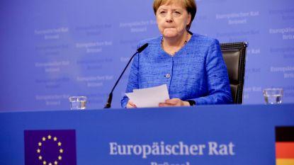Europese puzzel zit muurvast: Merkel herhaalt dat ze zelf geen topjob wil, geen meerderheid voor Spitzenkandidaten