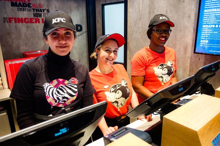 Eerder opende er al een KFC in het Wijnegem Shopping Center.