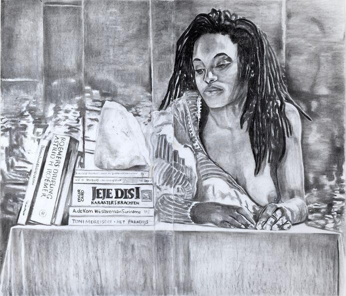 Jeje Disi van kunstenaar Iris Kensmil.
