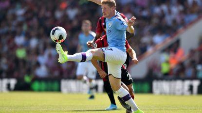 LIVE. Nieuwe mijlpaal voor De Bruyne: 50ste assist in de Premier League