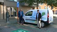 Vijf laadpalen voor elektrische wagens in gebruik genomen