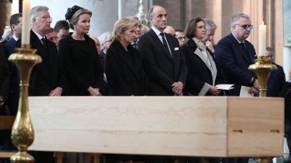 Koninklijke familie en ministers nemen afscheid van kardinaal Danneels