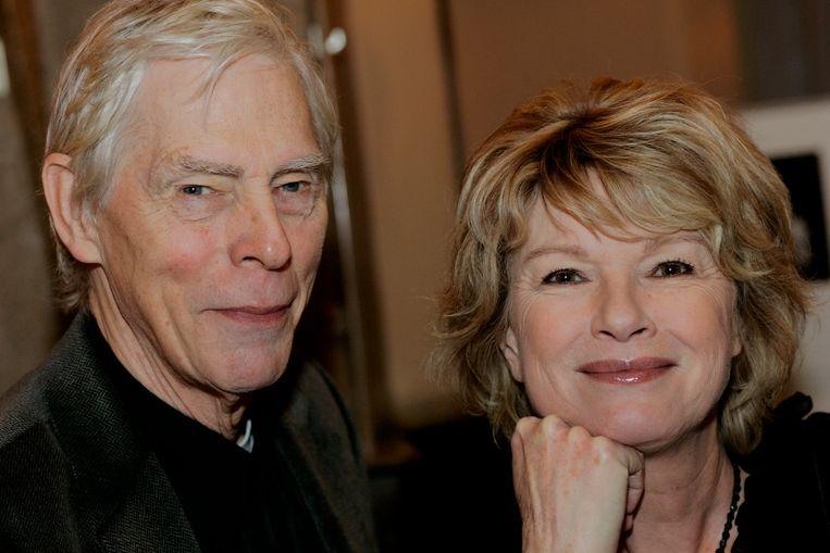 Martine Bijl met echtgenoot Berend Boudewijn. Beeld ANP Kippa
