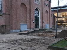 Eeuwenoude resten gevonden van toren Schildkerk in Rijssen