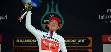 Tilburger Oomen pakt witte trui in Tirreno-Adriatico: 'Beloning voor week hard werken'