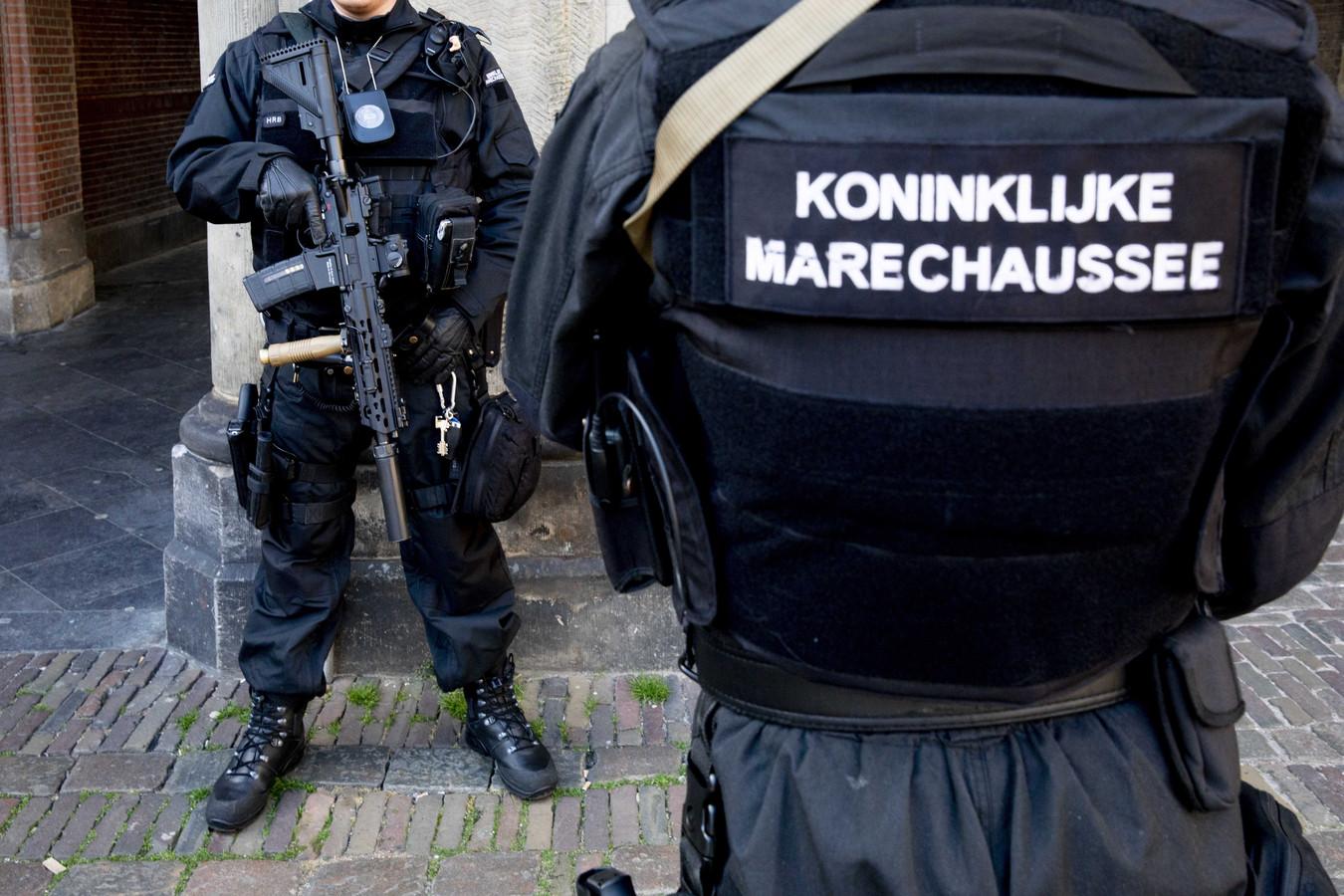 Bewaking op het Binnenhof.