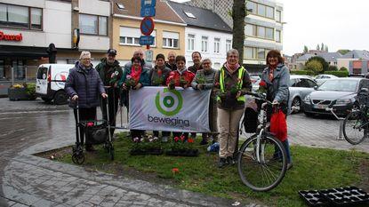 Wie te voet of met de fiets shopt, krijgt bloemen van Beweging.net