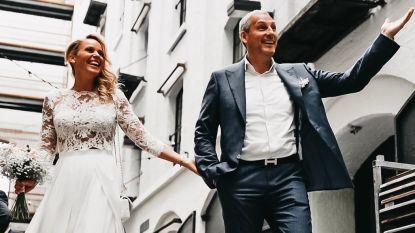 """""""Eindelijk officieel mijn vrouw"""": na 10 jaar is Gert Verhulst een getrouwd man"""