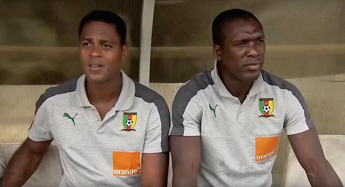 Comoren - Kameroen 1-1 Met Kluivert en Seedorf Screenshots Fox Sports