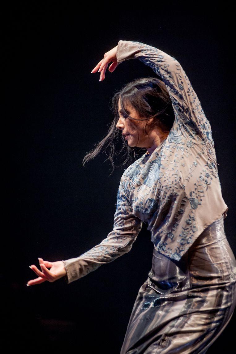 Flamencodanseres Eva Yerbabuena (1970). Beeld null