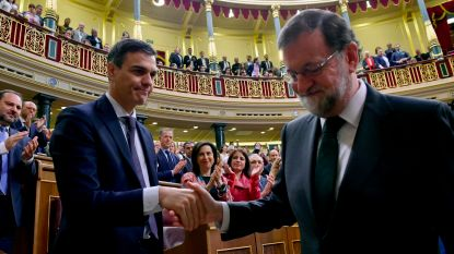 Spaanse premier weggestemd na corruptieschandalen