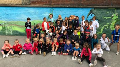 Basisschool De Krekel viert Dag van de sportclub
