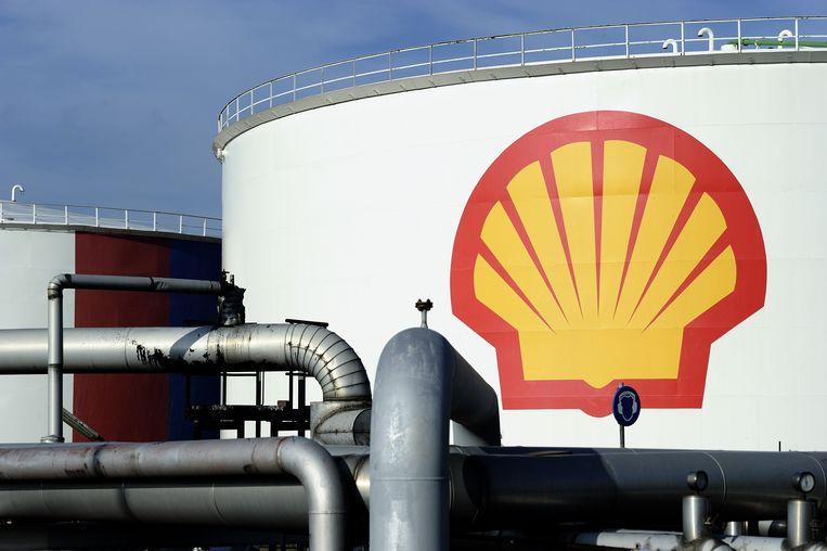 Het logo van Shell.