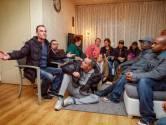 Demonstratie chroom-6 bij station Tilburg