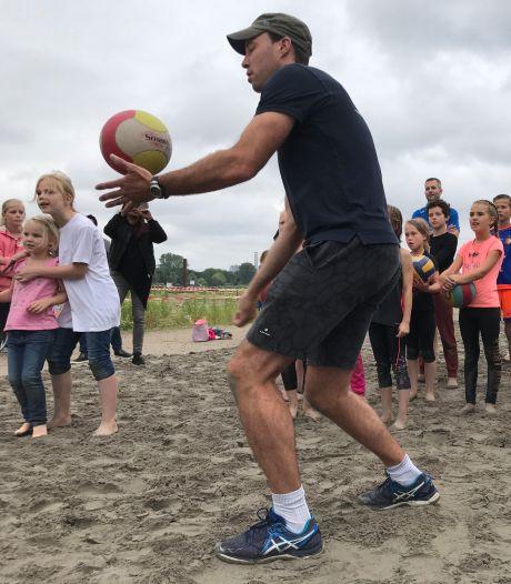 Sporten op 'het strand', duiken en racen tijdens Sliedrechtse Baggerfestival
