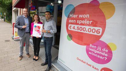 Man valt flauw na Lottowinst van 4,5 miljoen euro