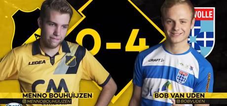Van Uden met PEC Zwolle voortvarend van start in E-Divisie