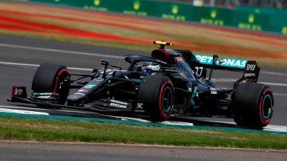 Bottas verovert pole op circuit van Silverstone, Vettel stelt weer teleur