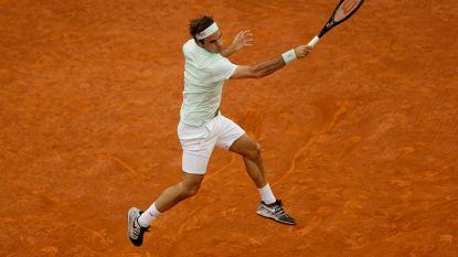 Na drie jaar afwezigheid op gravel: Federer speelt Gasquet overtuigend naar huis in Madrid