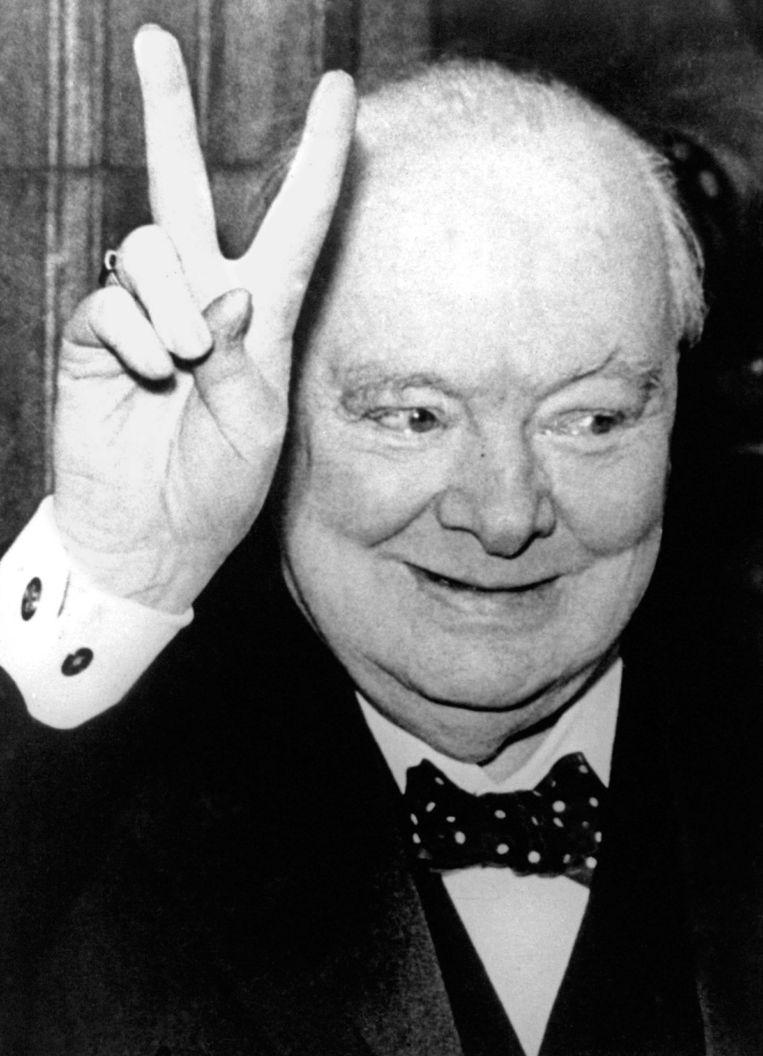 Winston Churchill Beeld anp