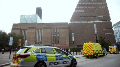 Jongetje (6) dat van Tate Modern in Londen werd gegooid, mag in harnas ziekenhuis verlaten