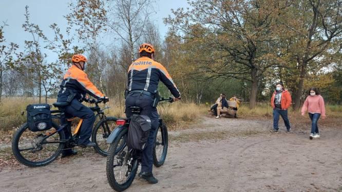 Politie patrouilleert te voet, te paard én nu ook met de mountainbike in de Kalmthoutse Heide
