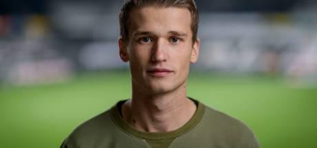 Voormalig NAC-speler Lucas Schoofs is na zenuwaandoening blij weer profvoetballer te zijn