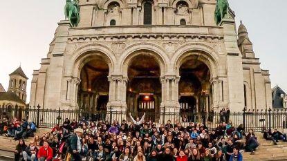 Vijfdejaars Oscar Romerocollege op schooluitstap naar Parijs
