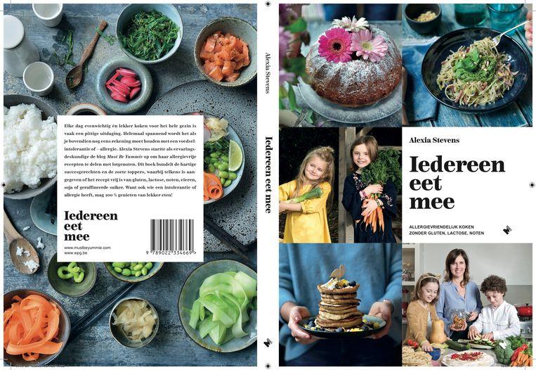'Iedereen eet mee', Alexia Stevens, M-Books, € 22,50. Blog: mustbeyummie.com