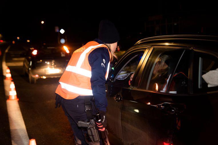 BOB controle in de politiezone Wetteren Laarne en Wichelen (PZWLW)