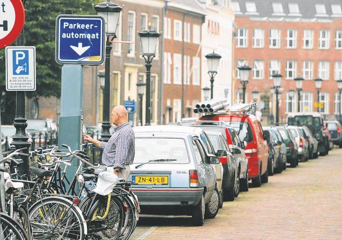 Betaal parkeren in het centrum van Utrecht