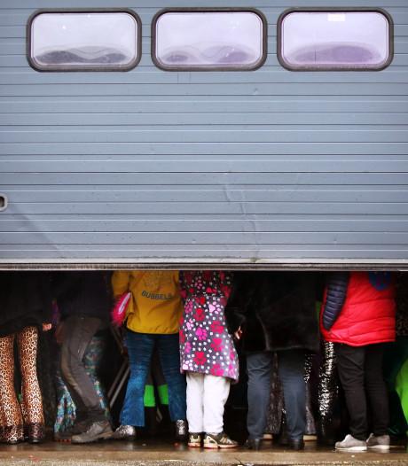 Lege straten in Boemeldonck: 'Een nare dag, maar het leven gaat door'