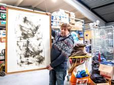 Grote ets Anton Heyboer duikt op bij Zwolse kringloop