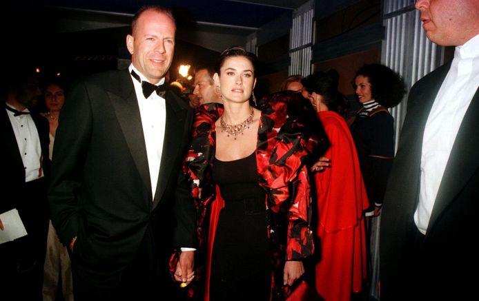 Bruce Willis et Demi Moore en 1997