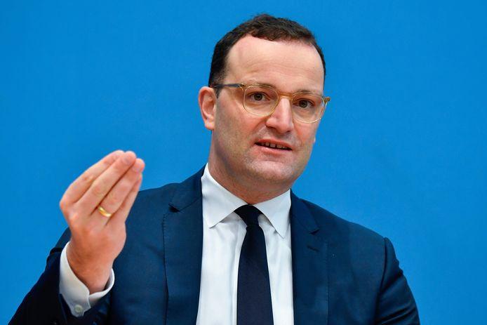 De Duitse Gezondheidsminister Jens Spahn.