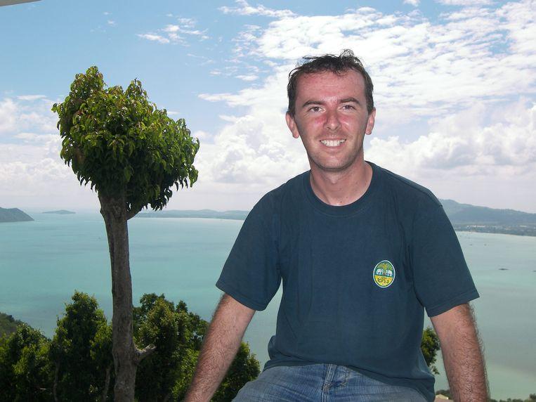 Dominiek Druart in Phuket.