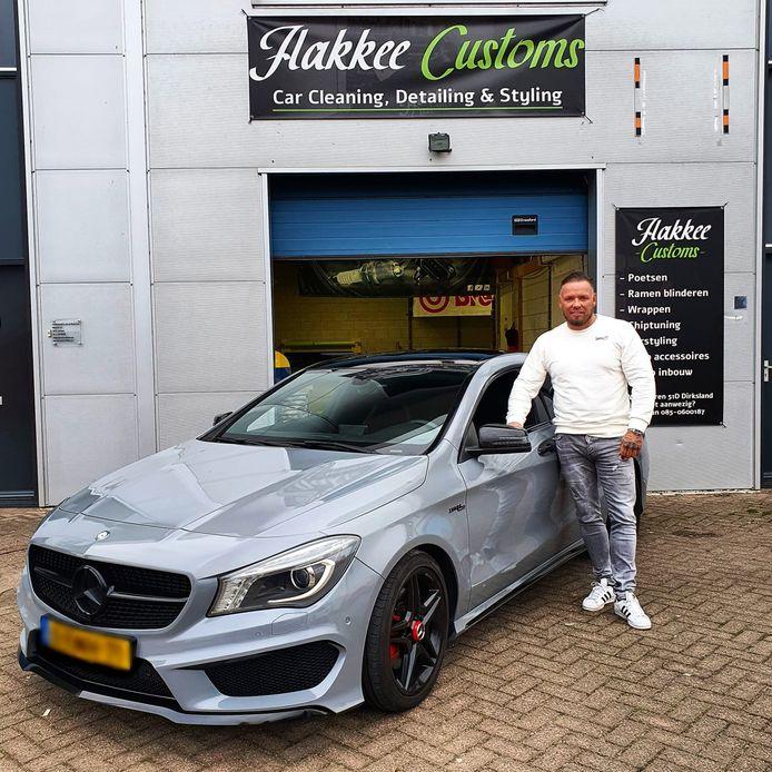Michael van der Plas heeft de auto op 09/09/2020 opgehaald bij het bedrijf van Dave Kruithof