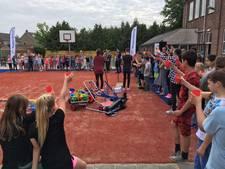 Kindcentrum Regenboog opent 'mooi schoolpleintje, met dank aan Trijntje'