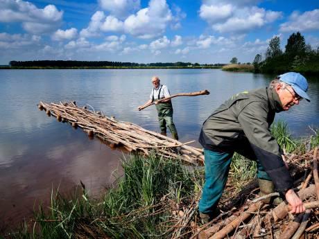 Visbossen en vogeleilanden moeten zorgen voor grotere variatie planten en dieren