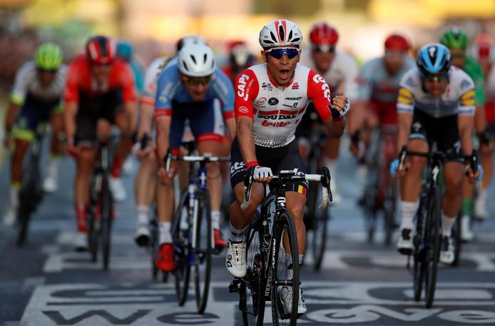 Ewan wint de laatste etappe.