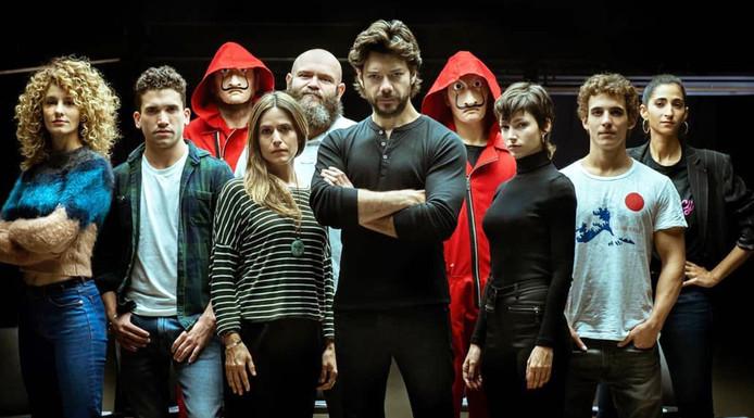 """Les acteurs de la série """"La Casa De Papel"""""""