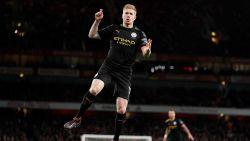 Nooit zo straf: magistrale Kevin De Bruyne scoort dubbel en rondt de kaap van 10 assists tegen Arsenal