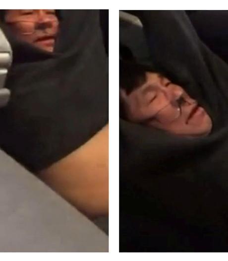 Beveiligers ontslagen na rel waarbij man vliegtuig uit werd gesleurd