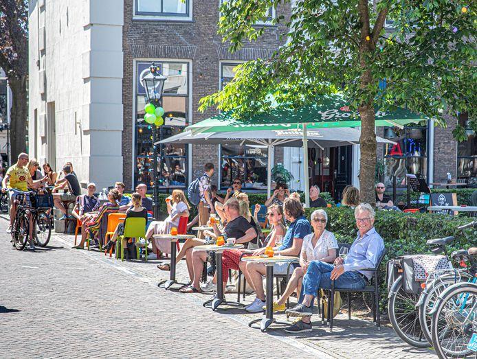 Coronaversoepeling in Zwolle.