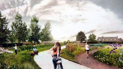 Doorbraak! Tegen 2023 fietsostrade en park tussen Overleie en Heulebeek