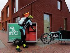 Wehkamp gaat in Hengelo pakketjes per fiets bezorgen