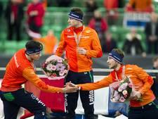 Voor vijfde keer in historie Nederlands WK-podium