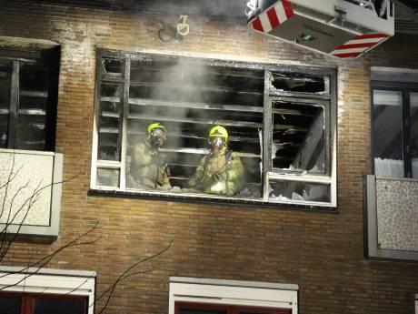 Bewoner zwaargewond na explosie in woning in Rotterdam-Schiebroek
