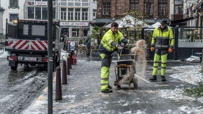 Gemeente zet extra ploegen in voor fietspaden sneeuw- en ijzelvrij te houden