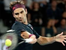 Federer ontsnapt aan uitschakeling in thriller tegen Millman